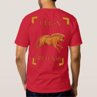 Camiseta romana de 10 Legio X Fretensis Vexillum Remeras