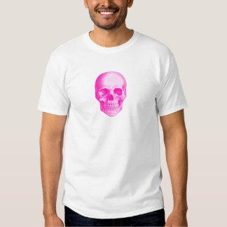 Camiseta rosada de Aeternus Eternus del cráneo Remeras