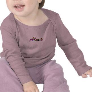 Camiseta rosada de Alma para el chica