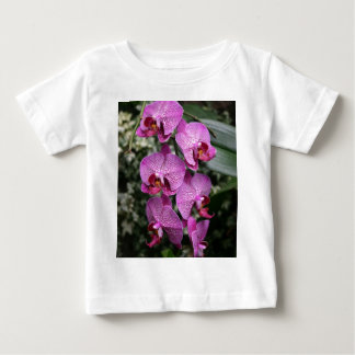 Camiseta rosada de Childs de las orquídeas Playera