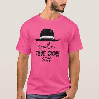 Camiseta rosada de hombres de Don el espabilado