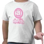 Camiseta rosada de la anarquía