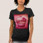 Camiseta rosada de la magdalena de Paisley