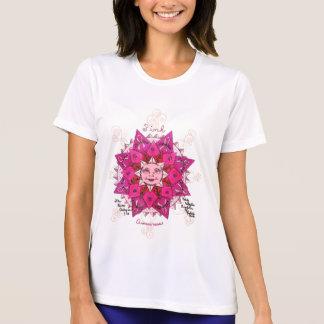 Camiseta rosada de la Micro-Fibra de la