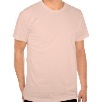 Camiseta rosada de las guitarras