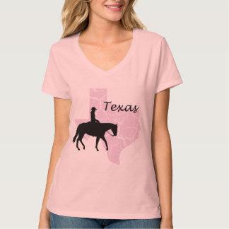 Camiseta rosada de las señoras del Grunge de la Playeras