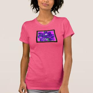 Camiseta rosada de OM Lotus de la mujer, jersey