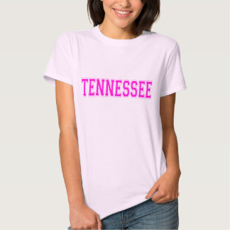 Camiseta rosada de Tennessee Playera
