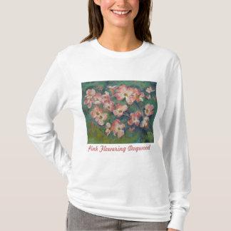Camiseta rosada del Dogwood floreciente