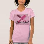 Camiseta rosada del Hairstylist
