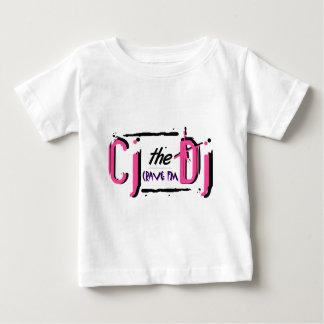 Camiseta rosada del niño de CJ