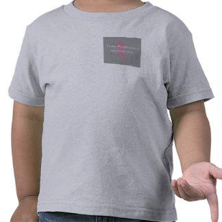 Camiseta rosada del niño del desfile