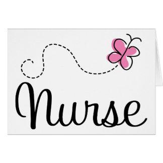 Camiseta rosada del regalo de la enfermera de la m felicitaciones