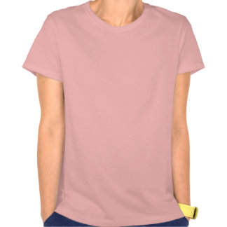 Camiseta rosada linda de la burbuja del