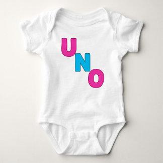 Camiseta rosada y azul DE NEÓN del cumpleaños del Poleras