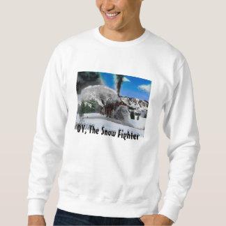 Camiseta rotatoria del Snowplow del Rio Grande Sudaderas Encapuchadas