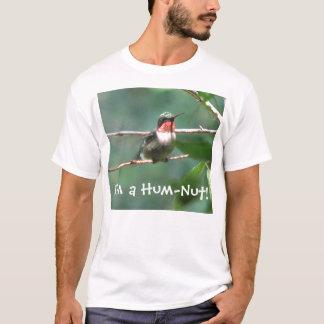 Camiseta Rubí-throated del colibrí de la
