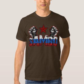Camiseta rusa del zambo camisas