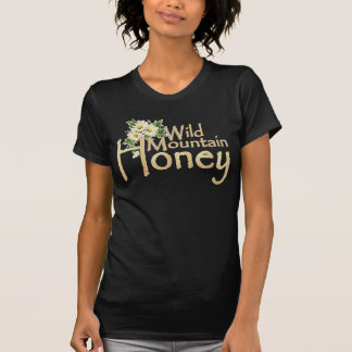Camiseta salvaje de la margarita de la miel de la
