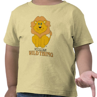 Camiseta salvaje personalizada de la cosa