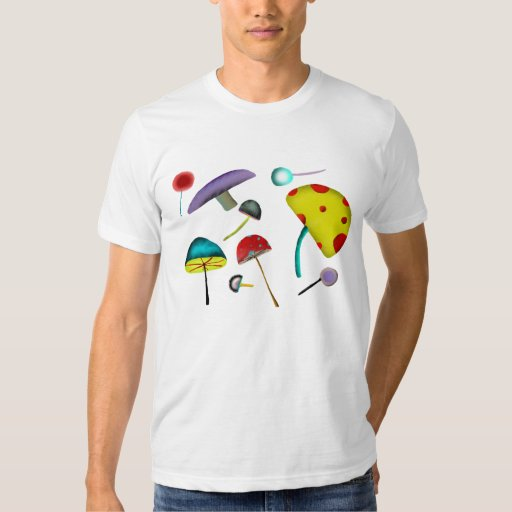 Camiseta salvaje psicodélica fofa de 1969 amores poleras