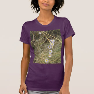 Camiseta salvaje púrpura de American Apparel de la