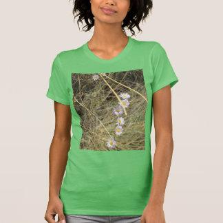 Camiseta salvaje verde de American Apparel de la m