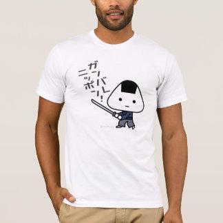 Camiseta - samurai de Riceball - Ganbare Japón