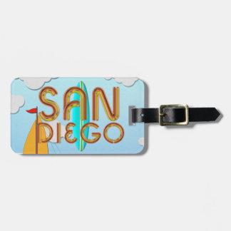 CAMISETA San Diego Etiquetas Maletas