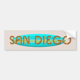 CAMISETA San Diego Pegatina Para Auto