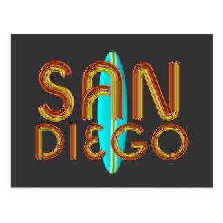 CAMISETA San Diego Tarjeta Postal