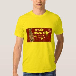 Camiseta sana de la estancia del oro camisas
