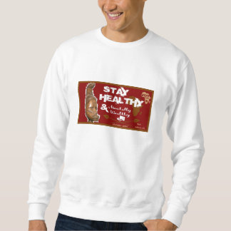Camiseta sana de la estancia unisex suéter