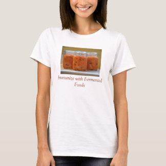 Camiseta sana del sistema inmune