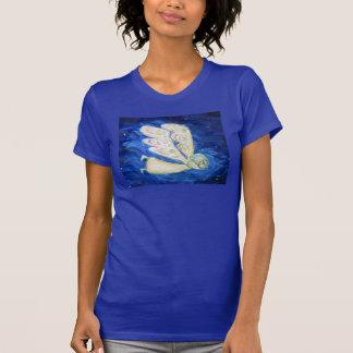 Camiseta santa de la pintura del arte del ángel de