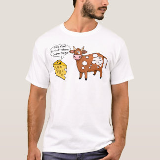 Camiseta santa de la vaca