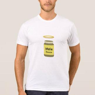 Camiseta santa del topo salsa