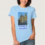 Camiseta Santiago de Compostela Poleras
