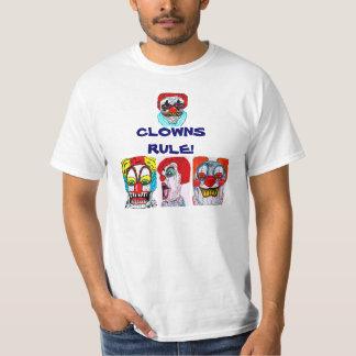 Camiseta SCAREY de la REGLA de los PAYASOS Remera