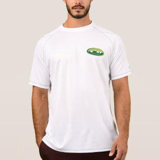 Camiseta seca de la malla del doble EXTENSO del