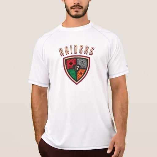 Camiseta seca del funcionamiento de los asaltantes