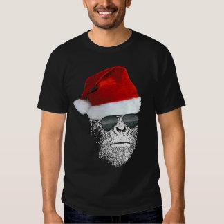Camiseta secreta de Sasquatch Santa Playera