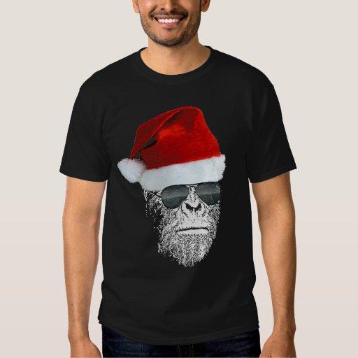 Camiseta secreta de Sasquatch Santa Poleras