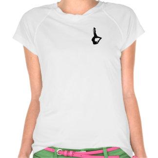Camiseta segura del entrenamiento de la alta mosca