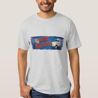 camiseta semi jubilada camisas