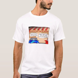 Camiseta seminueva del dibujo animado
