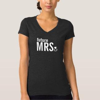 Camiseta - señora futura anillo (Bling) Poleras