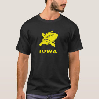 Camiseta sensiblera del fútbol de Iowa
