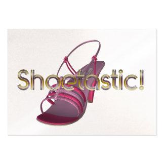CAMISETA Shoetastic Tarjetas De Visita Grandes