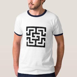 Camiseta simétrica del diseño 4 remera